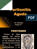 Peritonitis Aguda
