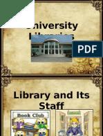 University Libraries