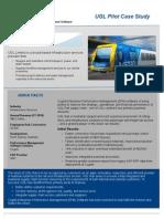 Ugl Rail Customer Case Study