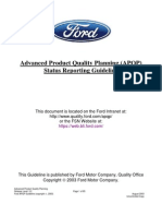 Ford APQPGuideline