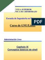 Cap9-Conceptos Basicos de Shell ESPOCH