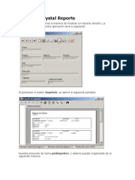 Informes Crystal Reports