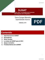Presentación ante la Comisión de Economía 2012 - 20Sept2011 - SFR
