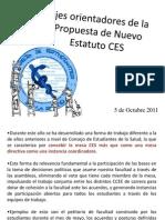 Discusión Estatutos Para Asambleas 5 de Octubre 2011