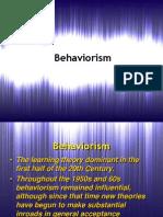 Behaviorism 2