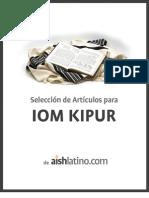 Artículos -  Iom Kipur 2011 - final
