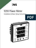 9200 Installation and Basic Setup Manual