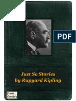 Just So Stories - Rupyard Kipling