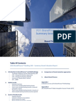 2011 Brand Finance Banking 500 Generic Report