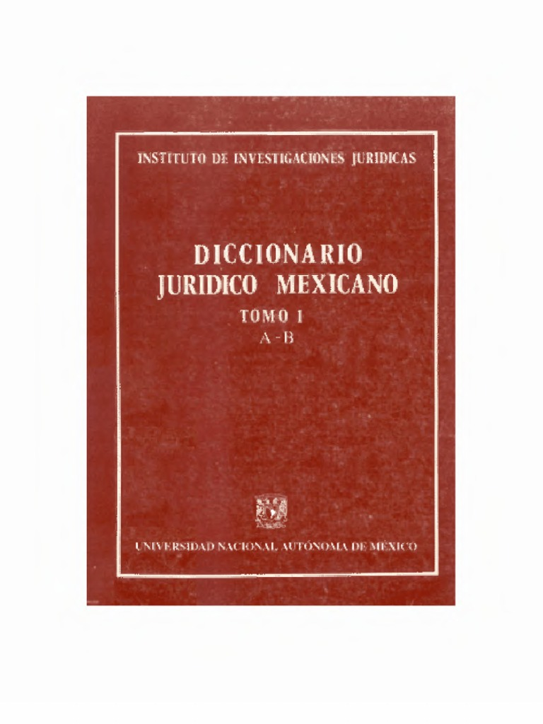 Diccionariojuridicomexicano tomoi fandeluxe Gallery