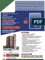 Diplomado de Alta Especialización en Derecho Registral Inmobiliario