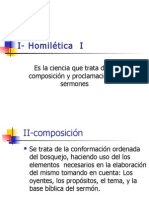 curso homilética