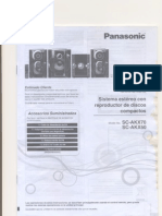 Panasonic SC AKX70