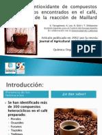 Antioxidantes del café