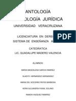 ANTOLOGÍA, sociologia juridica
