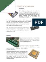PARTES INTERNAS COMPUTADORA