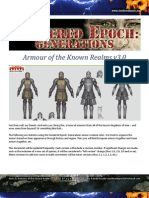 Arms & Armour of the Known Realms v3.0