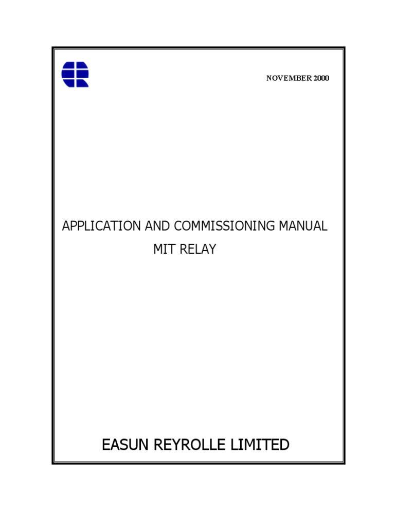 genesis mit 114 relays relay direct current rh es scribd com Box Type Relay Box Type Relay Refrigeration