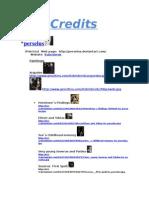 Credits Word97 2003