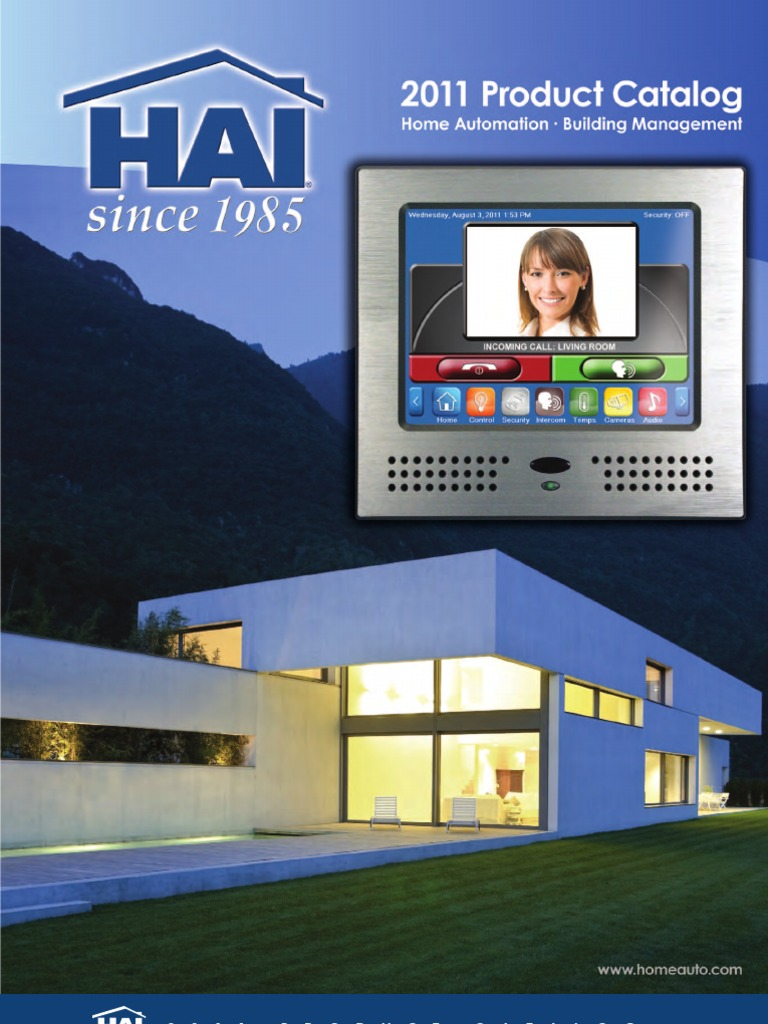 Product Guide Security Alarm Access Control Basic Wiring Home Automation Hai