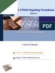 UMTS UTRAN Signaling Procedures