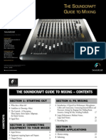 The Sound Craft Guide to Mixing Tutorial
