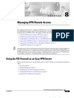Managing VPN Remote Access