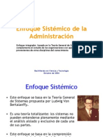 Clase 18 - Enfoque Sistemico de La Admin is Trac Ion