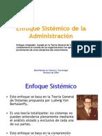 Clase 18 - Enfoque Sistemico de La Admin is Trac Ion