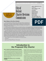 City of Detroit Proposed Charter Revisions