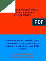 Lectura Exploratoria-lectura Comprensiva