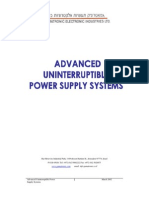 Advanced Uniterruptible Power Supply Systems