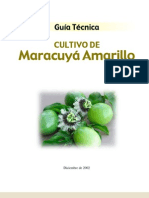 Cultivo de Maracuyá Amarillo