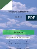 Halogeno Compounds