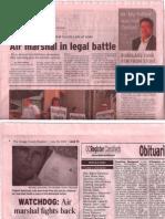 Orange County Register Local headline June 26 2009