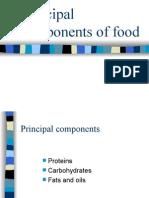 Principal Components of Food