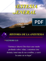 Anestesia General y Local