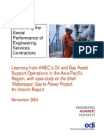 Learning From AMECs Oil&Gas and Gas Asset Support Operations in Asia-Pacific