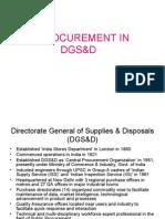 EProcurement- DGS&D