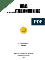 20 Soal Pengantar Ekonomi Mikro