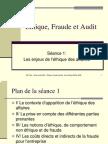 Ethique Fraude Audit S1 2006