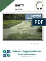 Biodiversity Factsheet Estuary