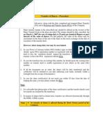 Procedure for Transfer Shares