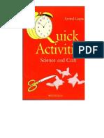 Quick Activities