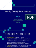 SW Security Test Fundamentals