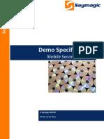 Saymagic Report Demo Specs for Video Presentation