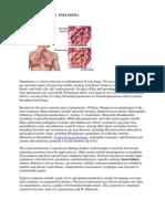 Pa Tho Physiology of Pneumonia