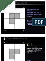 4 Squares Puzzle