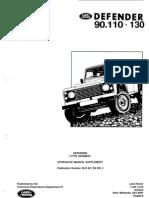 Defender LT77S Gearbox Supplement