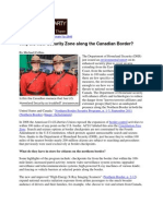 Why the New Security One on the Canadian Border